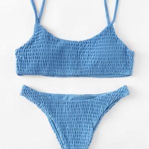 Other - NEVER WORN Blue bikini